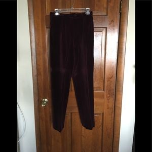 Women's Velour Pants